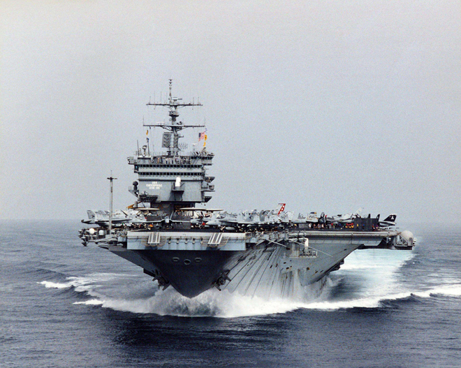 美国航母为什么全部采用核动力?是怎样运转的?有哪些好处?
