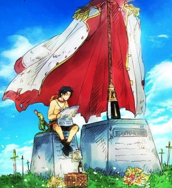 海贼王:假如艾斯没死,会加入草帽团吗?网友:会是最后的敌人!_路飞