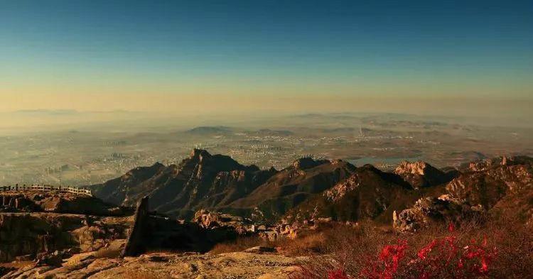 泰山姊妹山,位于山东,名字很多人读错,李白曾在此隐居
