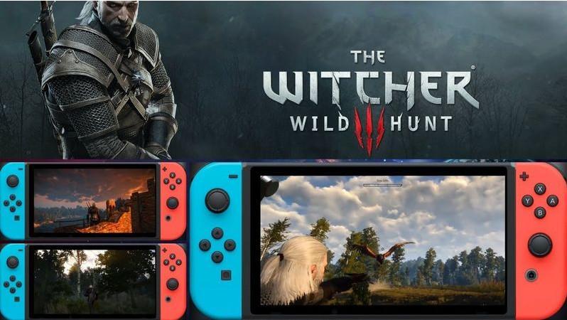 移植Switch版上线后,《巫师3》在英周销量暴涨十倍