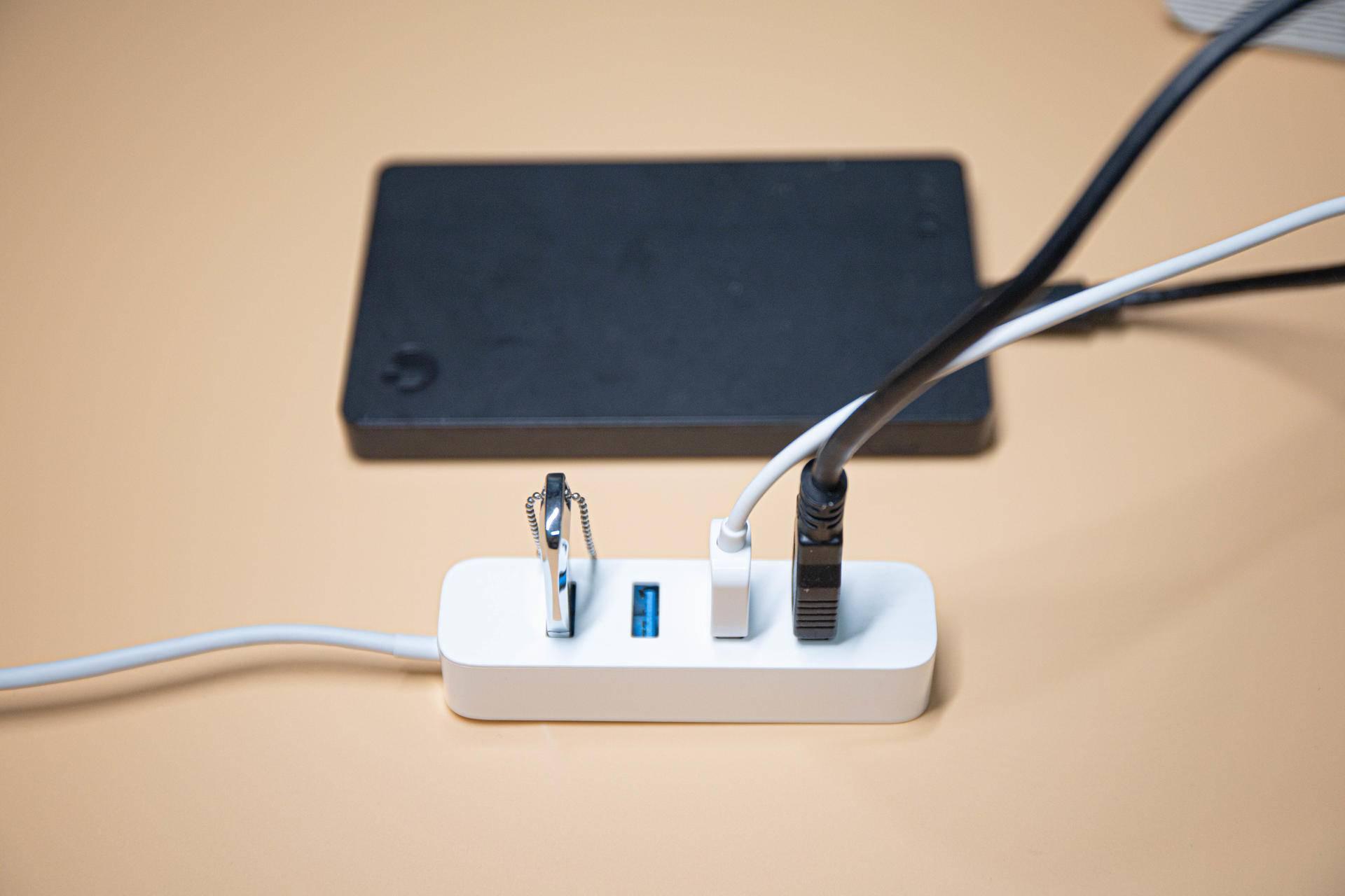 小米有品出品Redmi笔记本标配小米四口USB分线器