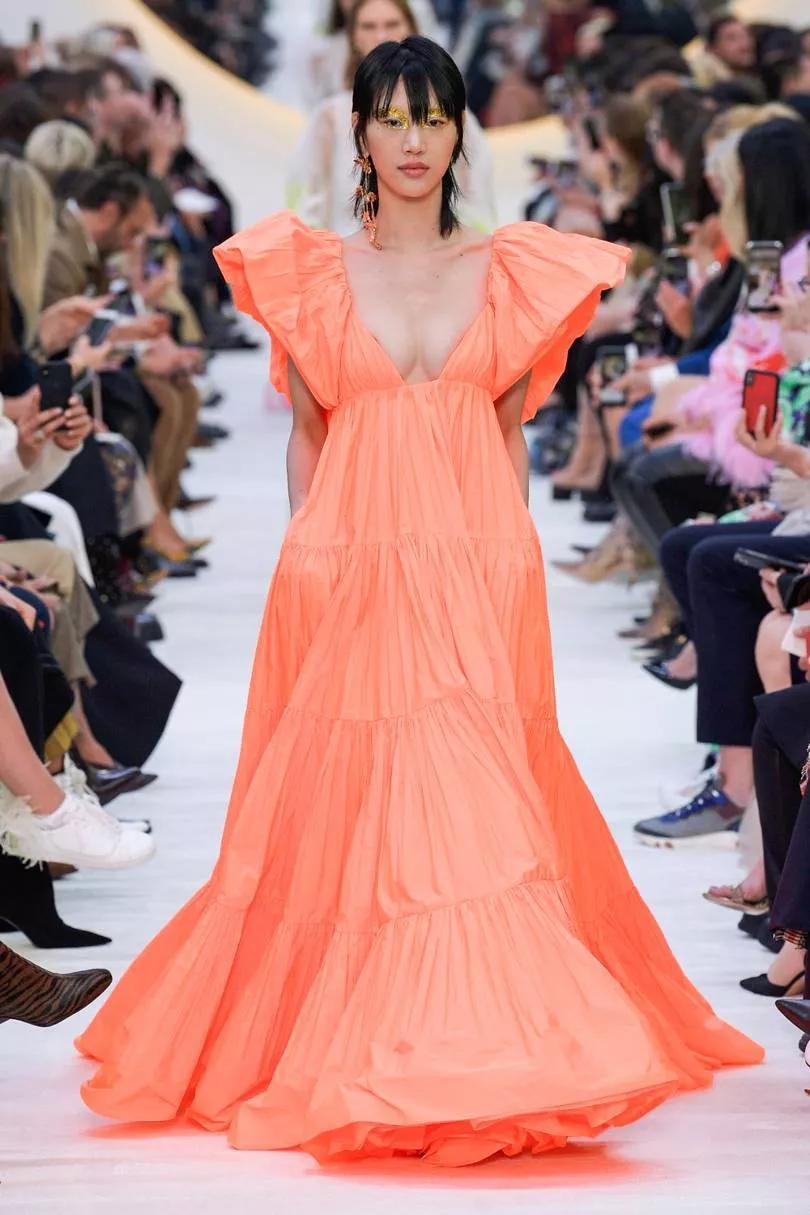 真正的华丽色彩 华伦天奴Valentino2020春夏系时装秀