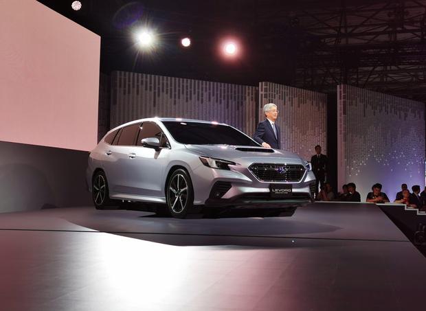 于SGP平台打造,斯巴鲁LEVORG原型车东京车展亮相