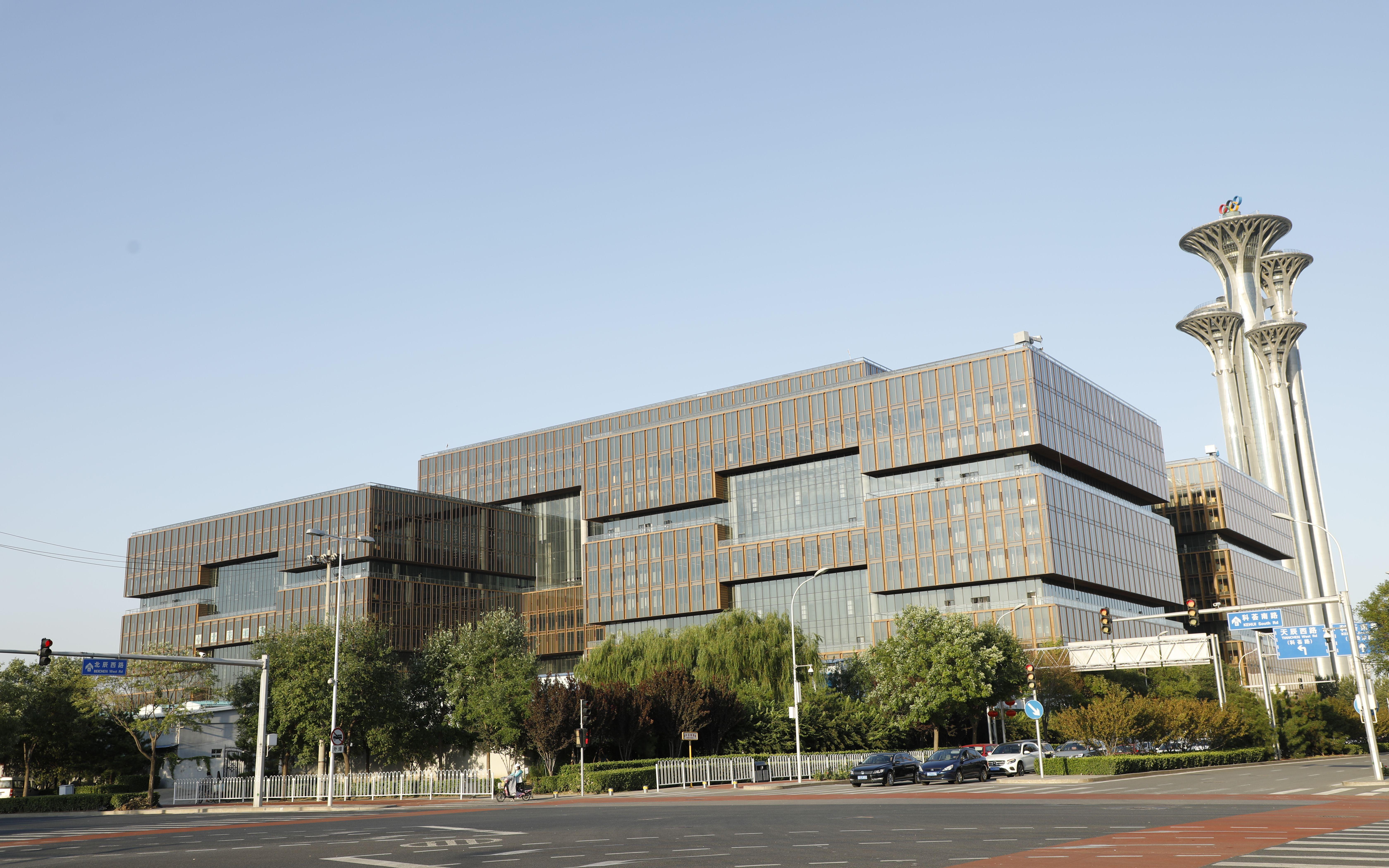 亚洲金融大厦今日正式竣工,北京中轴线又增新地标
