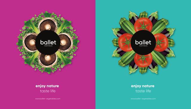芭蕾鲜境品牌创意设计