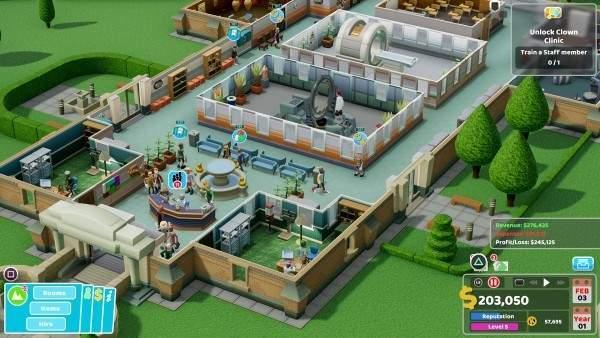 主机版《双点医院》宣布跳票推迟至2020年上半年发售