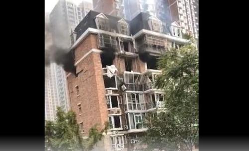 河北邯郸一家属楼住房燃气泄漏导