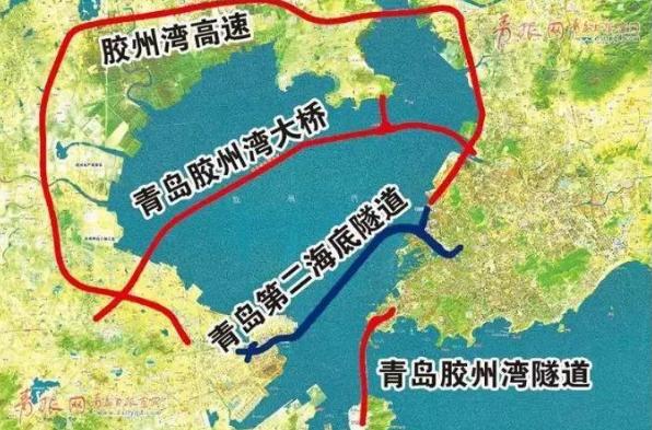 高速、高铁、海底隧道...青岛交通地图传来新消息