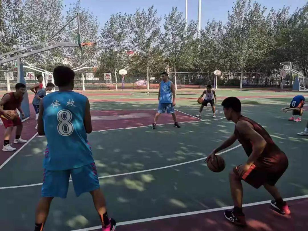 显微镜|耐高天津赛区亚军——一支没有篮球场的球队