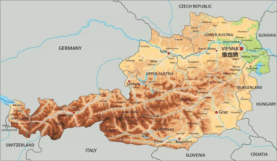 奥地利人均gdp_厉害 2018年奥地利人均GDP达到5.15万美元,那GDP总量和增速呢