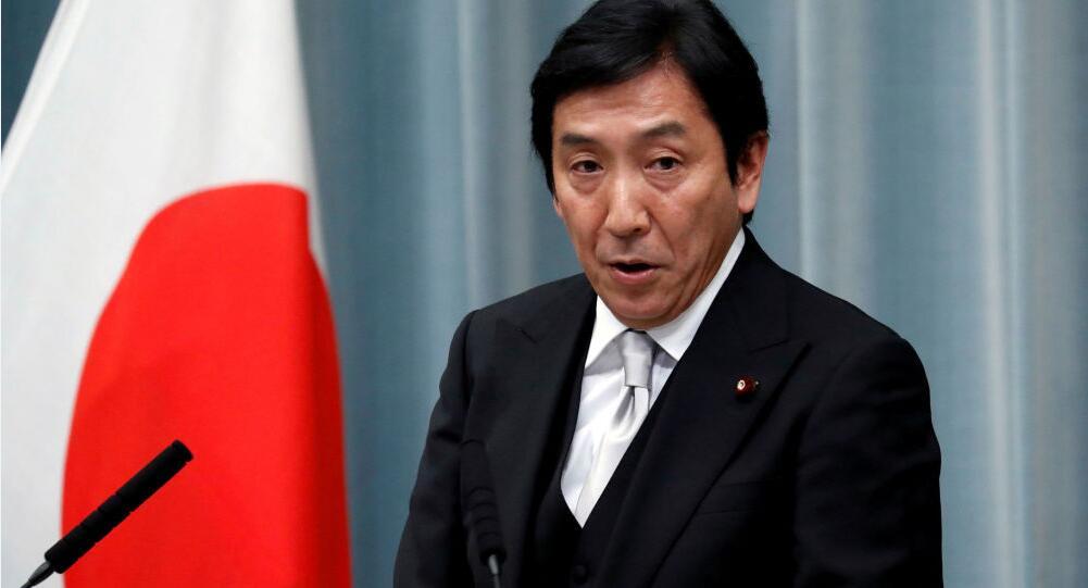 日本经产相被曝违反选举法后提出辞职 安倍:已接受辞呈