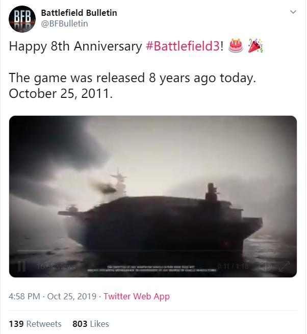 8年前的今天!《戰地3》發售了_游戲