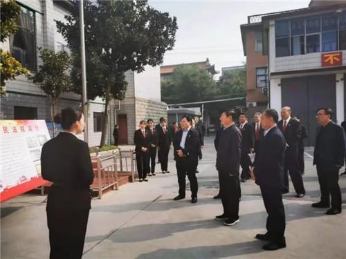 河南焦作:市人大常委会到基层法院视察刑事审判工作
