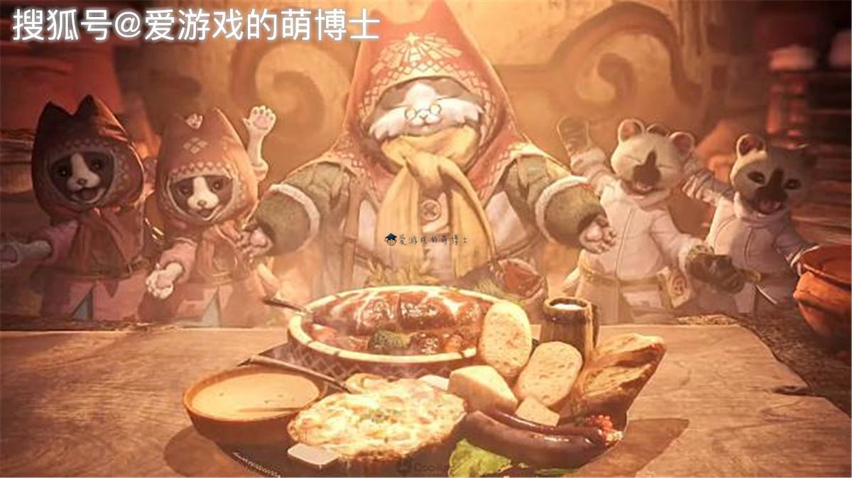 联动餐厅,《怪物猎人:世界》推出线下主题猫饭,好想吃