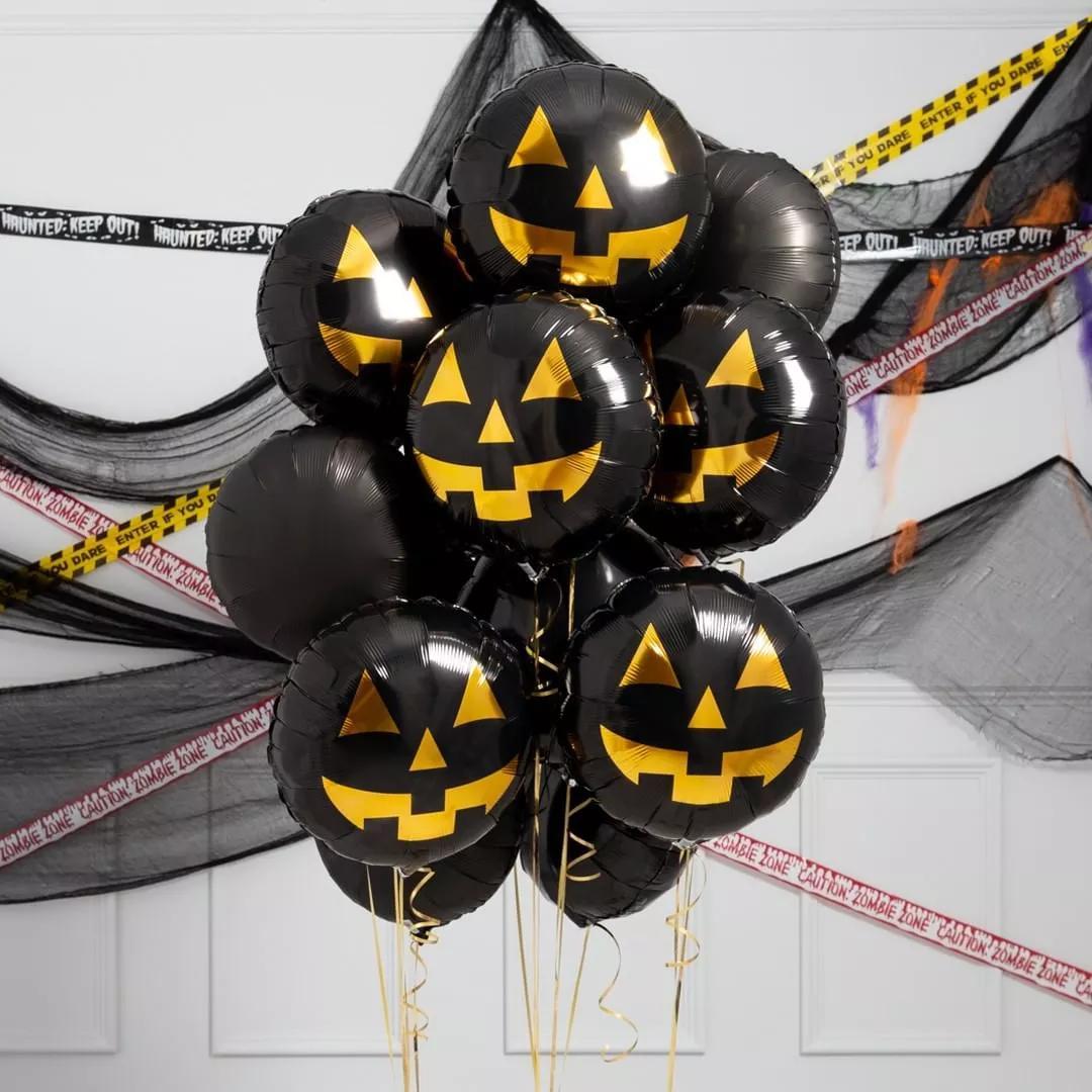 插花培训|低成本也惊艳!2019年万圣节气球装饰我真的吹爆!