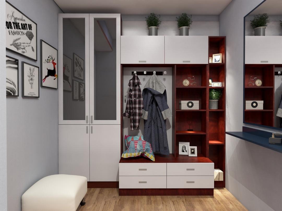 衣柜内部结构设计图和衣柜设计注意事项