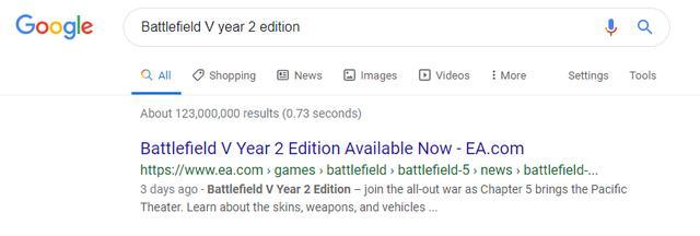 《戰地5》第二年版本泄露!10月31日開放購買_內容