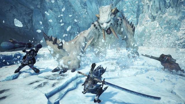 冰原之后还有内容《怪物猎人:世界》PC版开发路线图