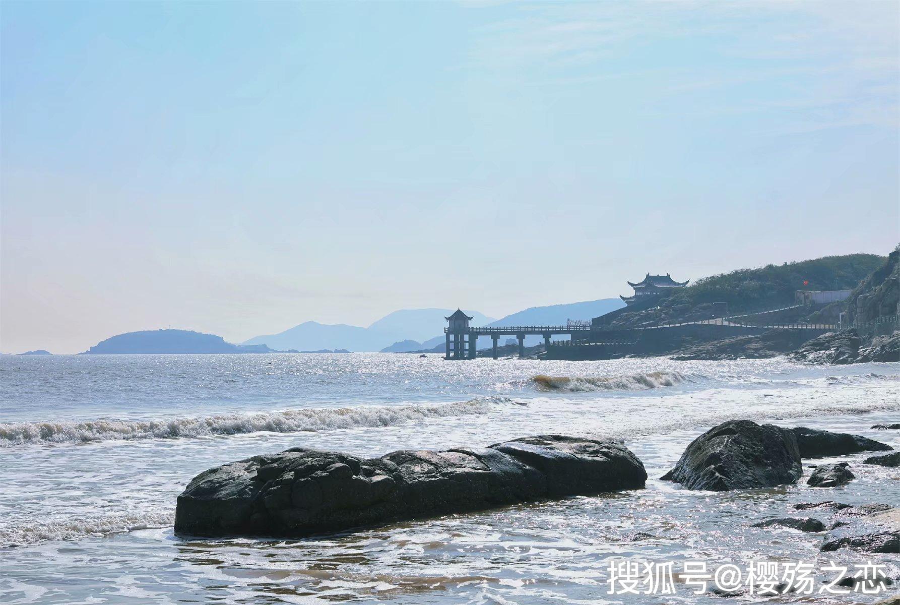 """原创             浙江最""""古怪""""的沙滩,需要掐点过去,过期不候"""