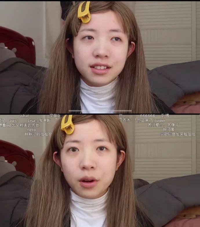 <b>看一个女生直播化妆,刘海放下来变成泰国人,口红涂上去又变日本的了......</b>