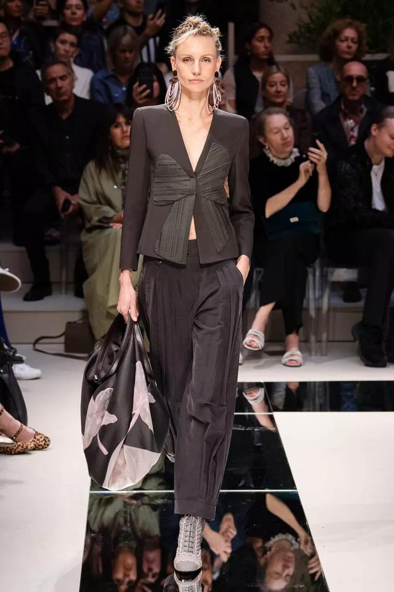 阿玛尼Giorgio Armani 2020春夏系女装秀