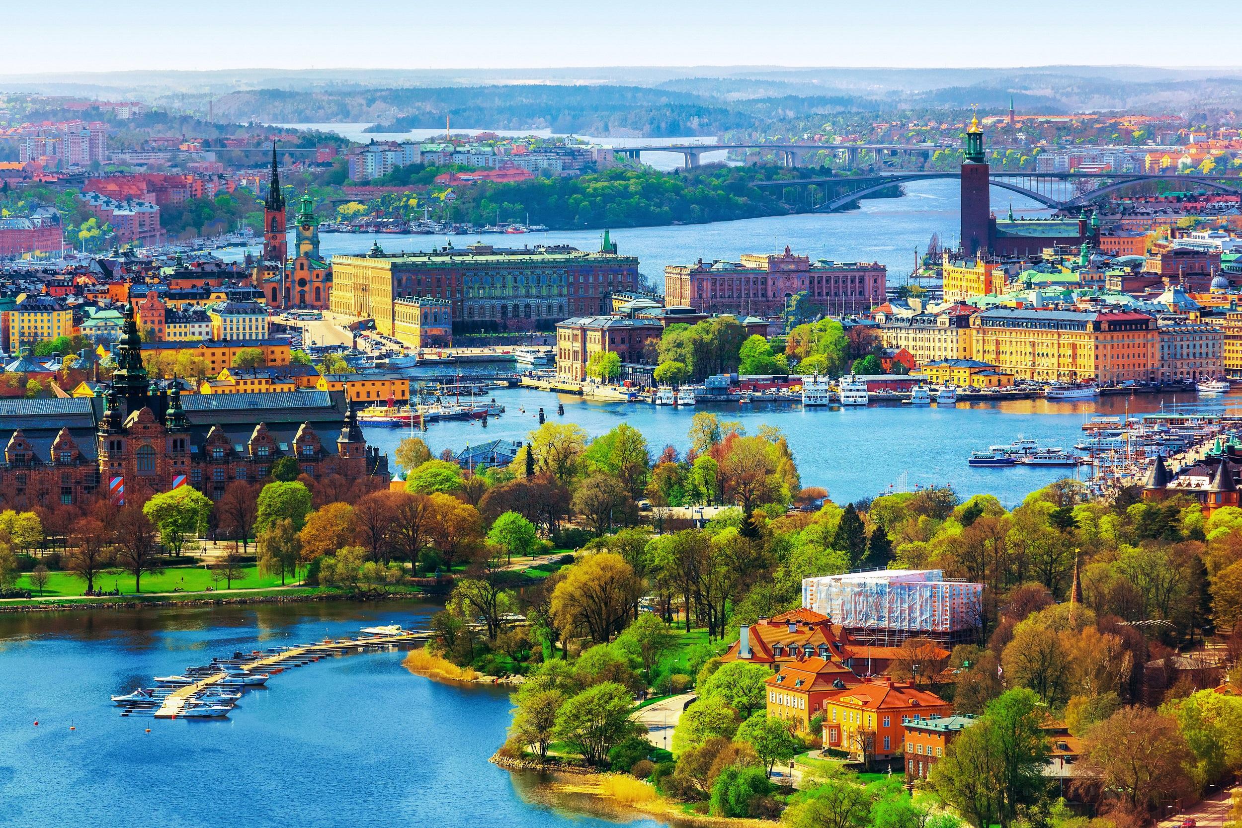 瑞典经济总量_瑞典地图