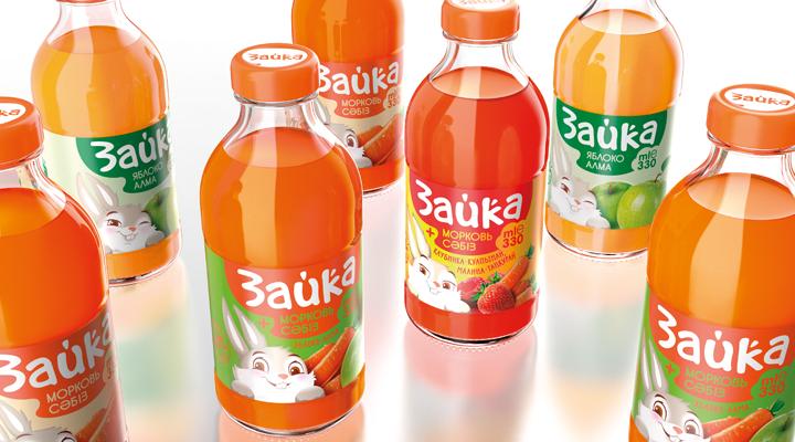 儿童果汁包装设计
