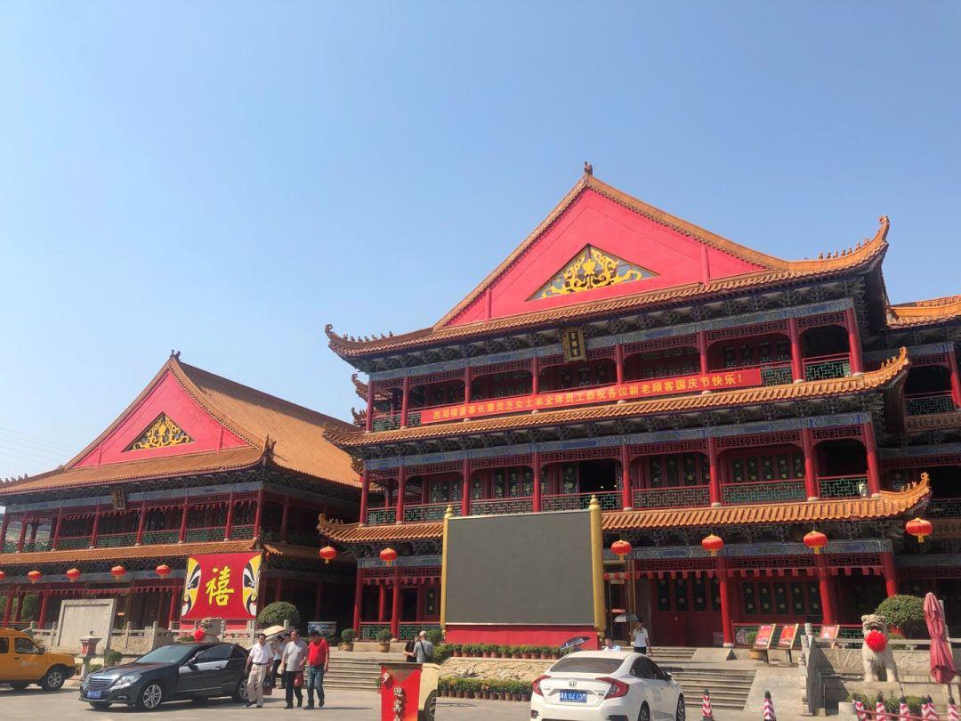 世界最大的中餐馆西湖楼外观