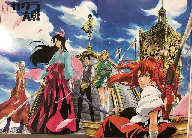 《新樱花大战》推出衍生漫画小说12月19日发售