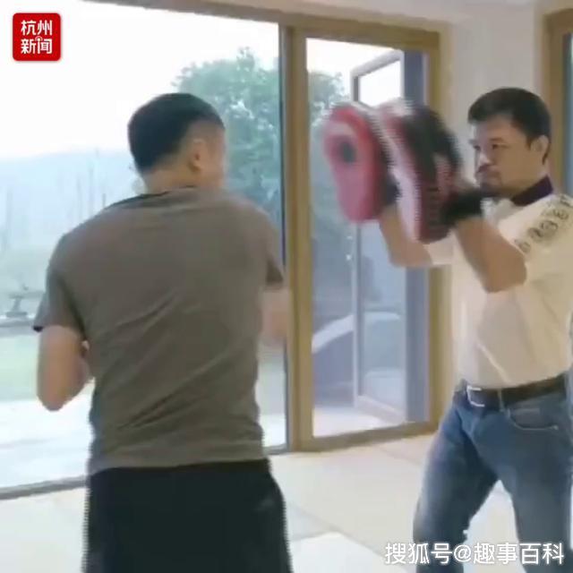 """和菲律宾拳王帕奎奥斗拳!马云""""马师傅""""最新""""退休""""生活曝光!"""