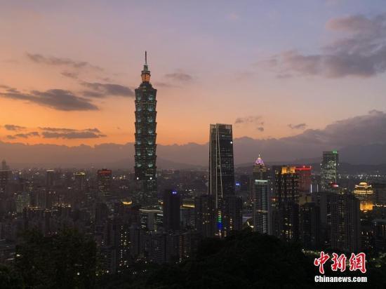 毕福剑老婆的真照片台湾景气灯号连续9个月呈现