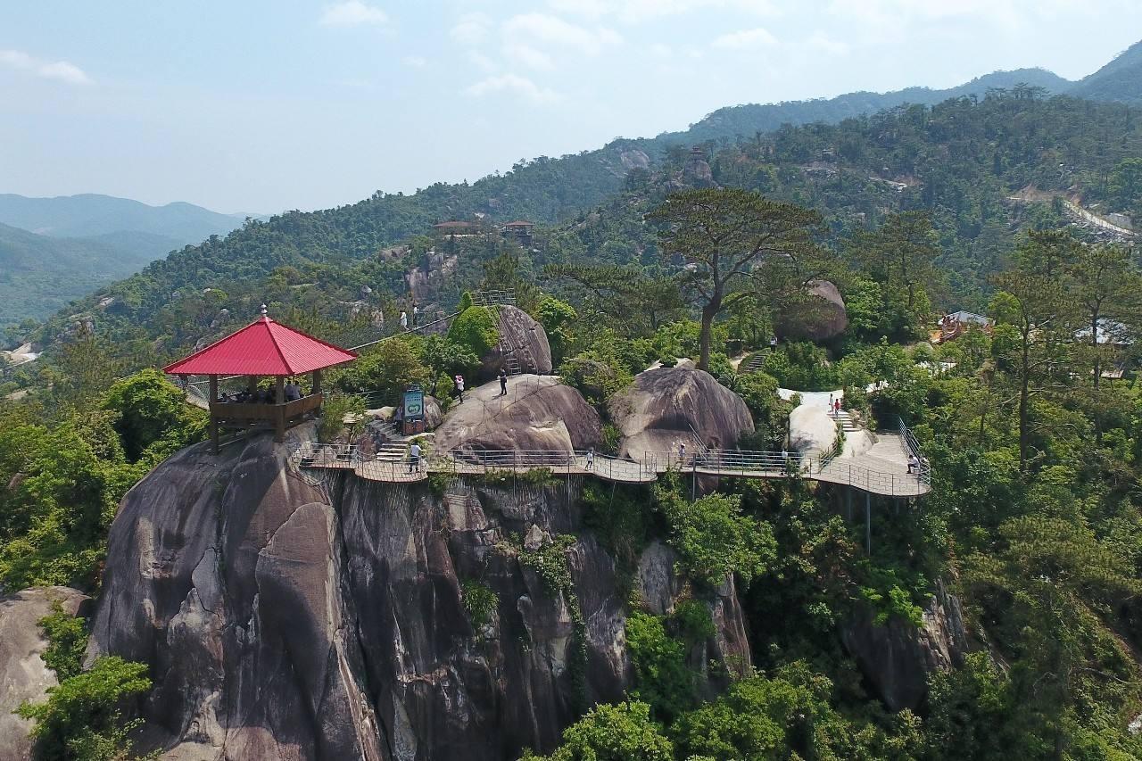 中国旅游景区大全之长泰小黄山