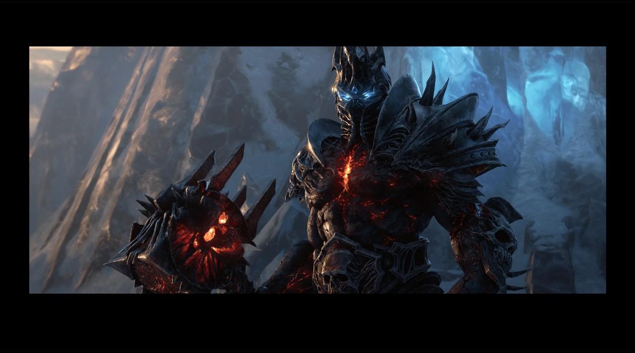 《魔兽世界》新资料片宣传图流出巫妖王伯瓦尔回归