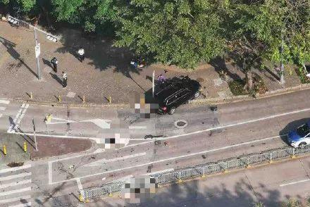 深圳男子超速驾车撞上安全岛致2死1伤,以涉嫌交通肇事罪被逮捕