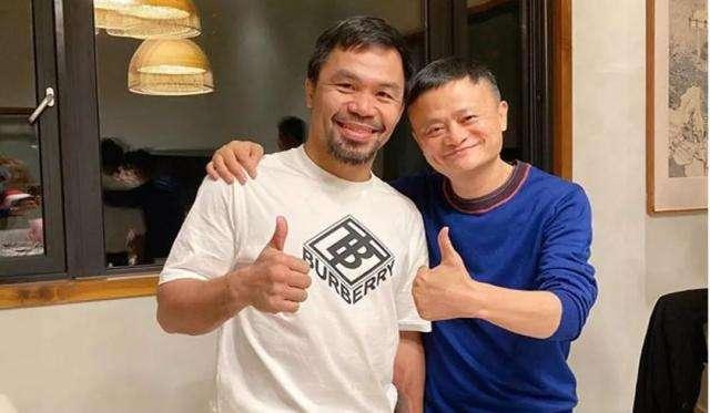 马云挑战世界拳王 联手帕奎奥喊话叫阵