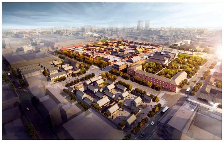 沈阳盛京皇城改造,投资36.8亿元,引进28个项目图片