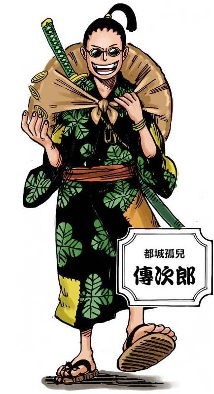 """海賊王961話:御田是傳次郎的偶像,他的身份是""""丑三小子""""無疑_蜘蛛"""