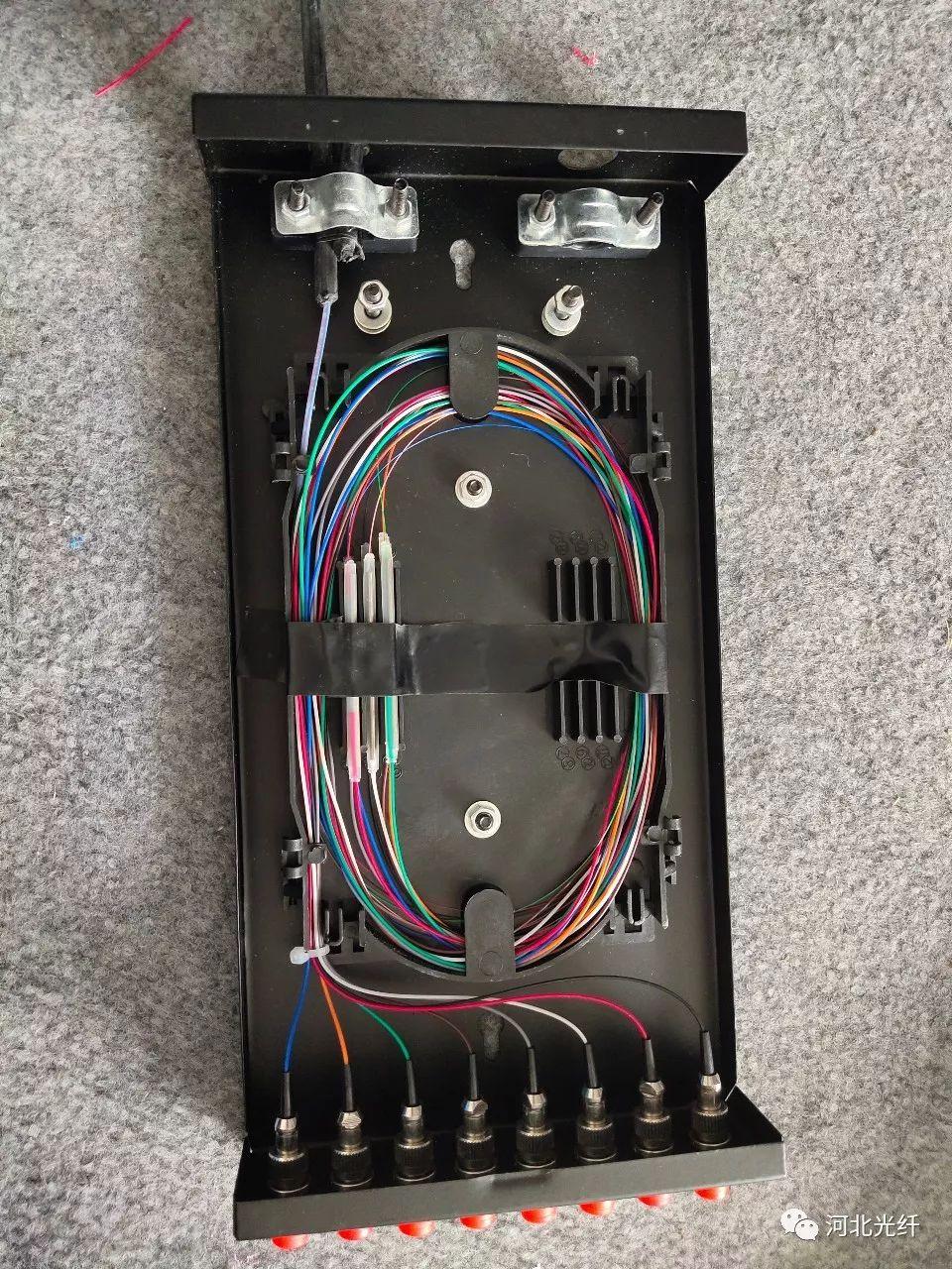 四芯光纤接头接法图解