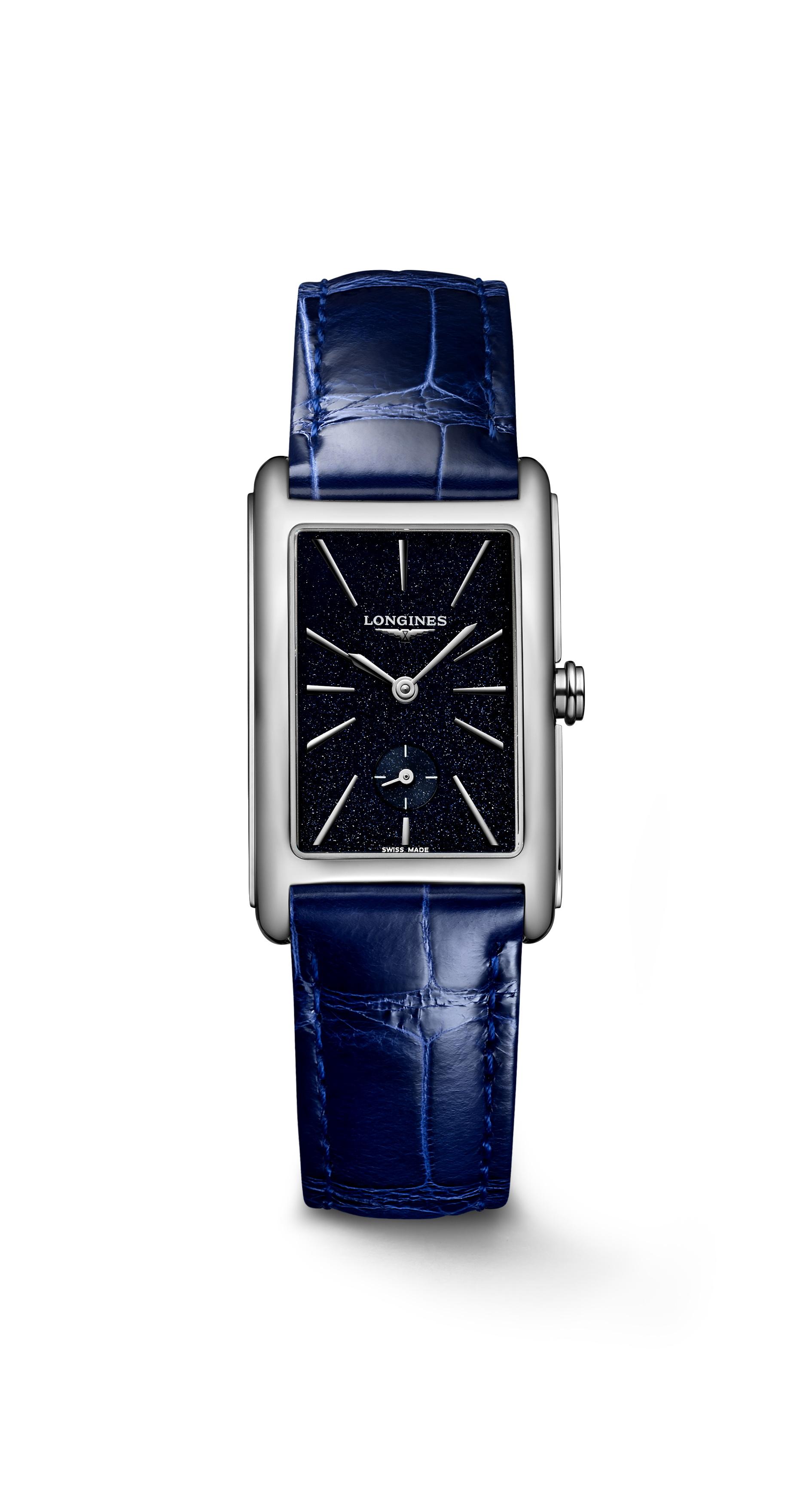 深圳浪琴黛绰维纳系列手表回收