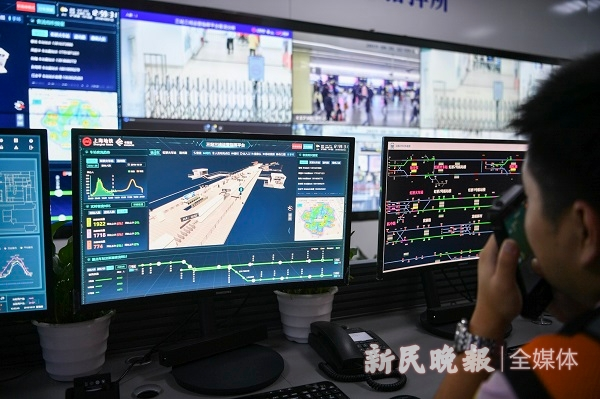 進博會5G+智慧地鐵平臺上線預測排隊、計算運能樣樣行