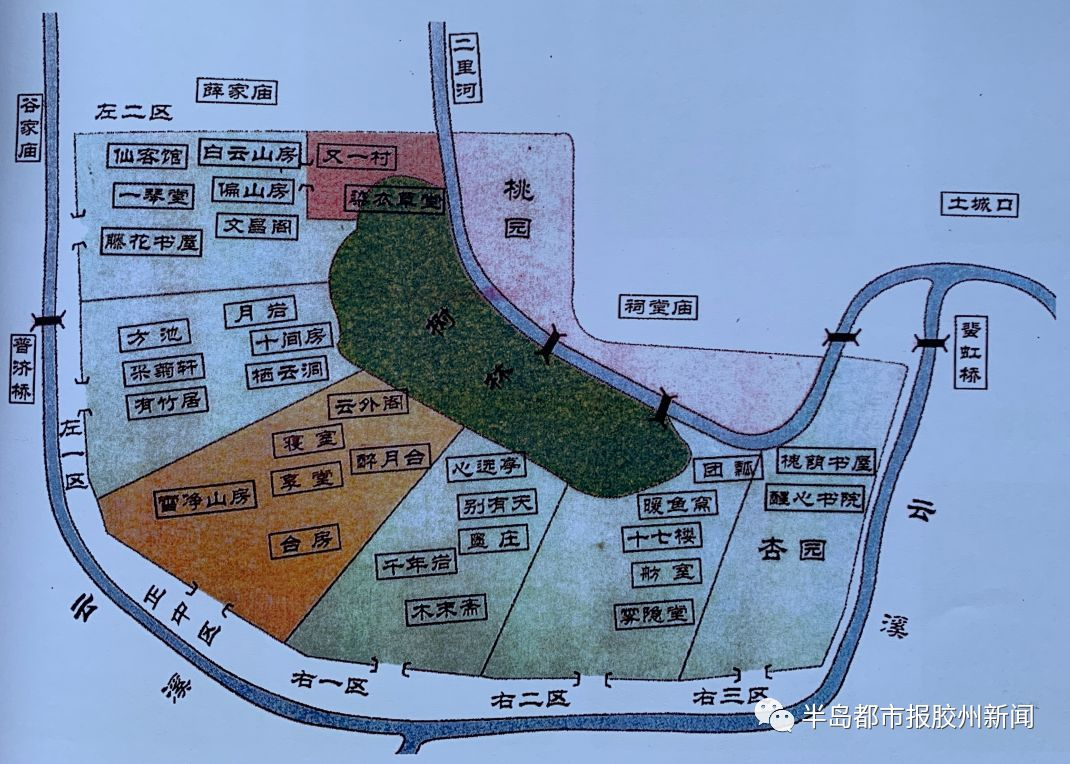 古嘉树园平面图