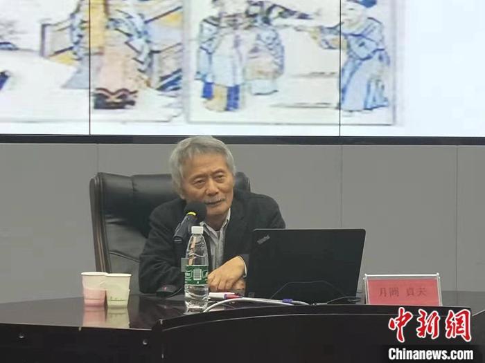 日本动漫大师月冈贞夫受邀到北二外讲座