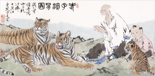 范曾画坛巨匠国画大师国学大师仍然在为传播国学而奋斗