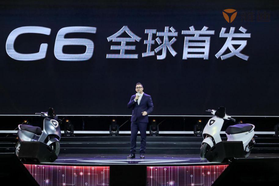 首款侧装电机智能电动摩托车迪雅G6发布:享受速度和激情
