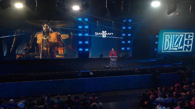 暴雪嘉年华:《星际争霸2》新指挥官「蒙斯克」登场
