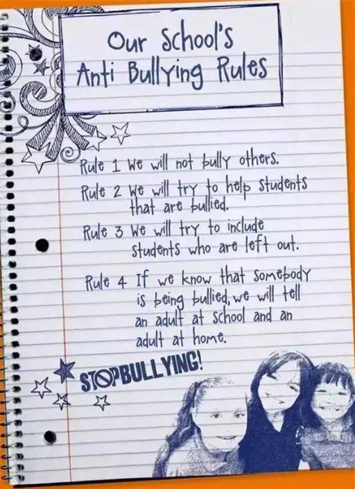 如果校園霸凌發生在美國......