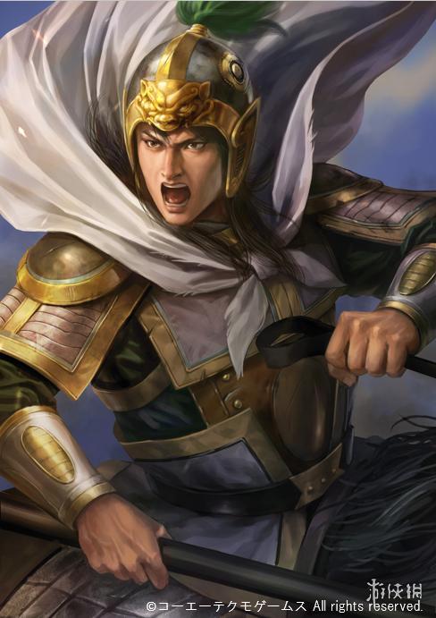 《三国志14》文鸯新立绘战法首公开匹敌赵云的猛将