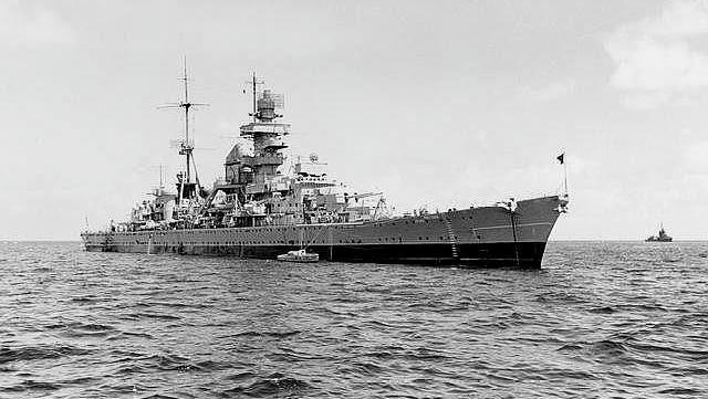 二战德国最好运战舰欧根亲王号,一艘可以硬扛原子弹的重巡洋舰_德国新闻_德国中文网