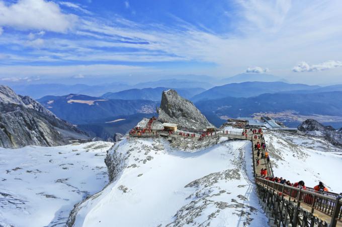 玉龙雪山三条索道景色各有千秋,看看你想去哪条一日游攻略