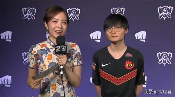 "LOL-S9:击败IG晋级决赛后,小天称""希望决赛后全场都在喊FPX""_Tian"